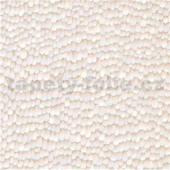 Vliesové tapety na stenu IMPOL Paradisio 2 pierka sivá