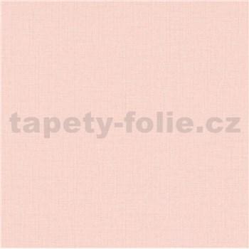 Vliesové tapety na stenu IMPOL Paradisio 2 textilná štruktúra ružová