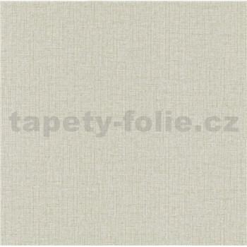 Vliesové tapety na stenu IMPOL Paradisio 2 textilná štruktúra sivá