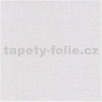 Vliesové tapety na stenu IMPOL Paradisio 2 textilná štruktúra svetlo sivá