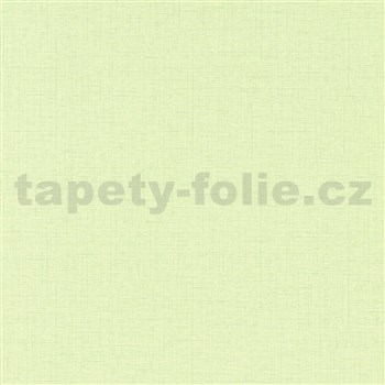 Vliesové tapety na stenu IMPOL Paradisio 2 textilná štruktúra svetlo zelená