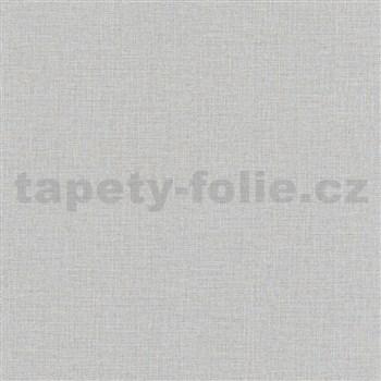 Vliesové tapety na stenu Eyecatcher textilná štruktúra sivá