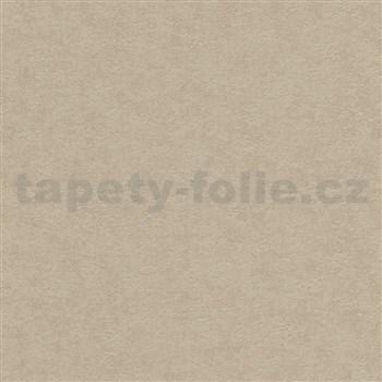 Vliesové tapety na stenu Modern Classics jednofarebná hnedá so štruktúrou