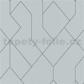Vliesové tapety na stenu Graphics & Basics škandinávsky vzor sivý