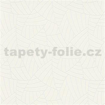 Vliesové tapety na stenu Graphics & Basics linky strieborné na krémovom podklade