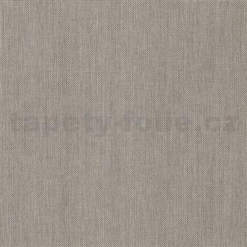 Vliesové tapety na stenu IMPOL Paradisio 2 jednofarebné žíhané tmavo sivé