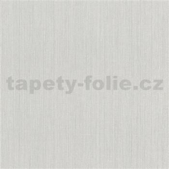 Vliesové tapety na stenu IMPOL Paradisio 2 jednofarebné žíhané sivé