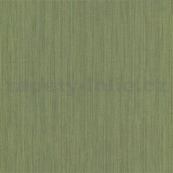 Vliesové tapety na stenu IMPOL Paradisio 2 jednofarebné žíhané zelené