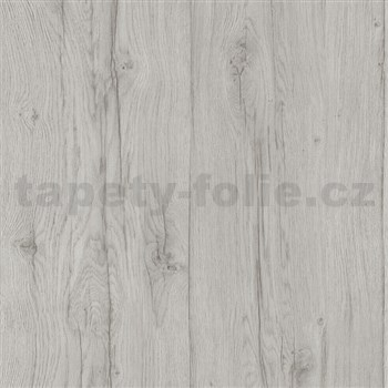 Vliesové tapety na stenu Quiet Nature drevené dosky sivé