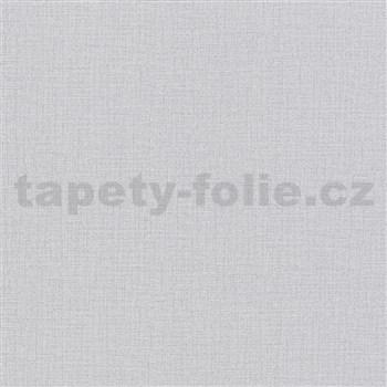 Vliesové tapety na stenu Modern Clasics imitácia textílie sivá
