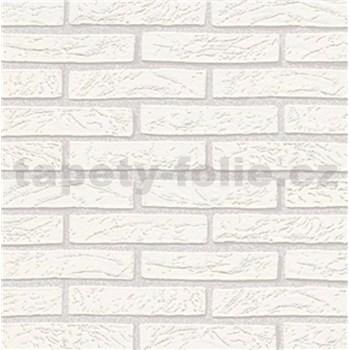 Vliesové tapety na stenu Imitations tehla biela