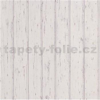 Vliesové tapety na stenu Scandinja dosky drevené svetlo sivé