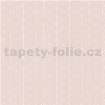 Vliesové tapety na stenu Scandinja skandinávsky design ružový