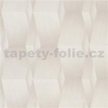 Vliesové tapety na stenu G.M.K. Fashion for walls 3D hrany svetlo hnedé