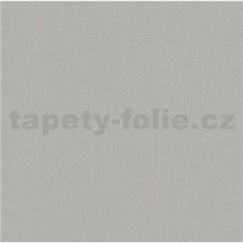 Vliesové tapety na stenu Felicita štruktúrovaná jednofarebná sivá