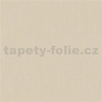 Vliesové tapety na stenu Felicita štruktúrovaná jednofarebná béžová