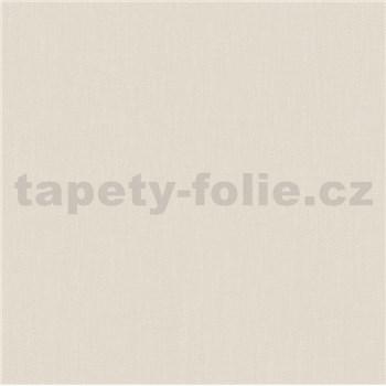 Vliesové tapety na stenu Felicita štruktúrovaná jednofarebná svetlo hnedá