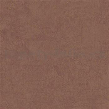 Vliesové tapety na stenu Felicita hnedá s brúseným efektom
