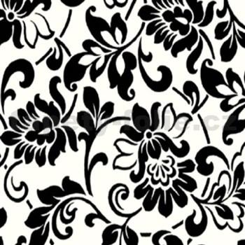 Samolepiace tapety - barokové kvety 90 cm x 15 m