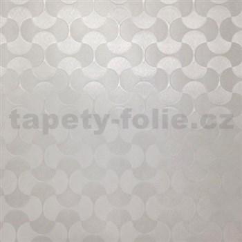 Statická fólia transparentná vzor, metráž, šírka 67,5 cm, návin 15 m,