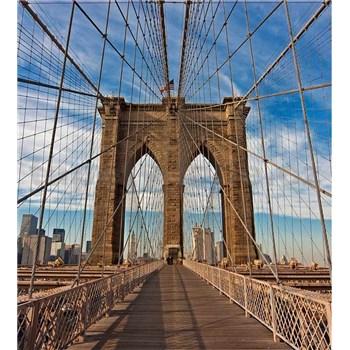 Vliesové fototapety Brooklyn Bridge rozmer 225 cm x 250 cm