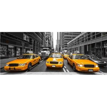Vliesové fototapety taxi rozmer 375 cm x 150 cm