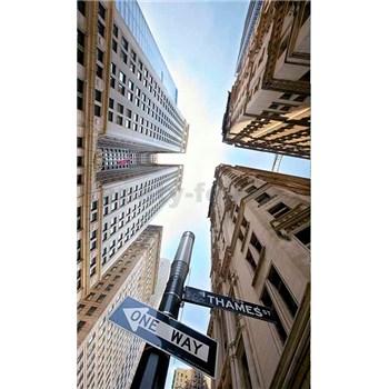 Vliesové fototapety Brodwayský pohľad na nebo rozmer 150 cm x 250 cm