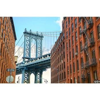 Vliesové fototapety Manhattan Bridge rozmer 375 cm x 250 cm