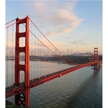Vliesové fototapety Golden Gate rozmer 225 cm x 250 cm