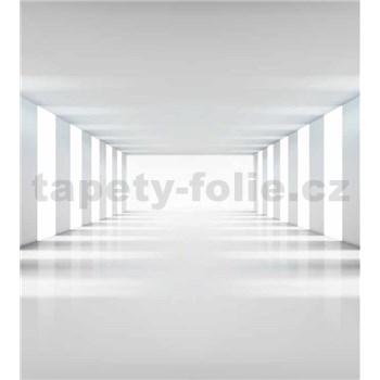 Vliesové fototapety biela chodba rozmer 225 cm x 250 cm