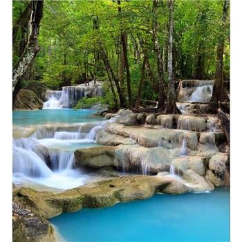 Vliesové fototapety vodopády rozmer 225 cm x 250 cm