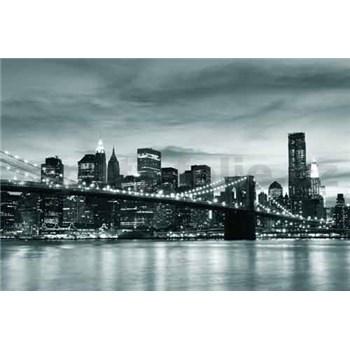 Vliesové fototapety Brooklyn Bridge, rozmer 312 x 219 cm