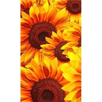 Vliesové fototapety kvety slnečnic rozmer 150 cm x 250 cm