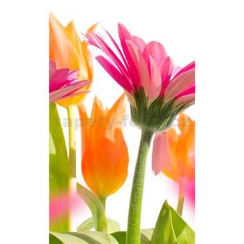 Vliesové fototapety jarné kvety rozmer 150 cm x 250 cm