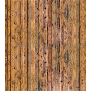 Vliesové fototapety stena z dosiek rozmer 225 cm x 250 cm