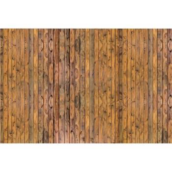 Vliesové fototapety stena z dosiek rozmer 375 cm x 250 cm