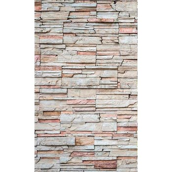 Vliesové fototapety ukladaný kameň rozmer 150 cm x 250 cm