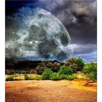 Vliesové fototapety mesiac rozmer 225 cm x 250 cm