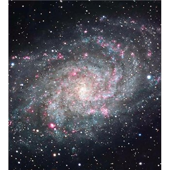 Vliesové fototapety galaxie rozmer 225 cm x 250 cm