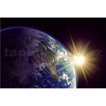 Vliesové fototapety zemegule rozmer 375 cm x 250 cm