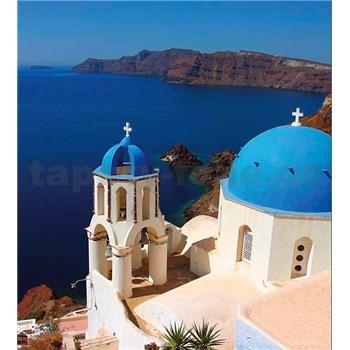 Vliesové fototapety Santorini rozmer 225 cm x 250 cm