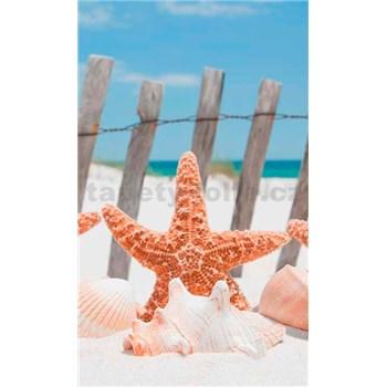 Vliesové fototapety morská hviezdica rozmer 150 cm x 250 cm
