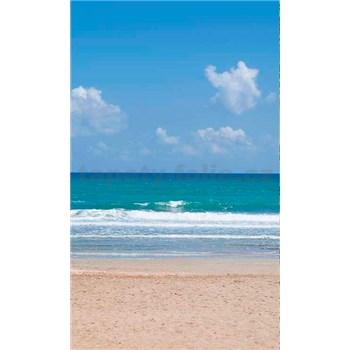 Vliesové fototapety prázdna pláž rozmer 150 cm x 250 cm