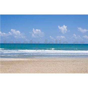 Vliesové fototapety prázdna pláž rozmer 375 cm x 250 cm