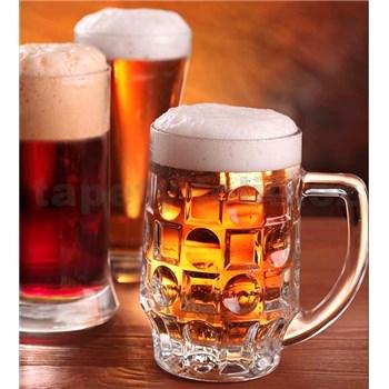 Vliesové fototapety pivo rozmer 225 cm x 250 cm
