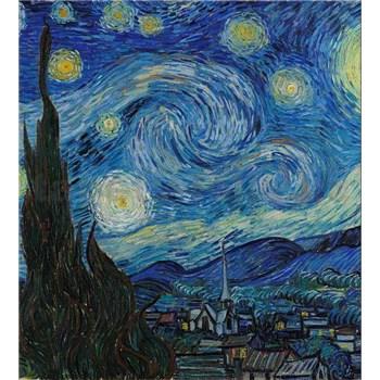 Vliesové fototapety hviezdna noc - Vincent Van Gogh rozmer 225 cm x 250 cm