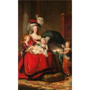 Vliesové fototapety Marie Antoinette - Vigeé Le Brun rozmer 150 cm x 250 cm