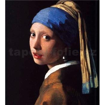 Vliesové fototapety Dievča s perlou - Johannes Vermeer rozmer 225 cm x 250 cm