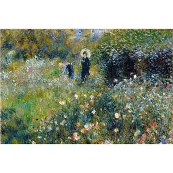 Vliesové fototapety Ženy v záhrade - Pierre Auguste Renoir rozmer 375 cm x 250 cm
