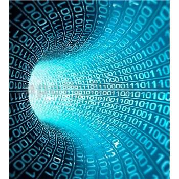 Vliesové fototapety binárny prúd rozmer 225 cm x 250 cm